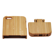 Mobile phone case For iPhone 5 5S wood Bamboo Handmade cover protector housing