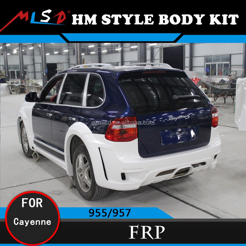 Car Styling Perfect Fitment 958 HM Style with High Quality FRP Material for Porsche Cayenne 955/957