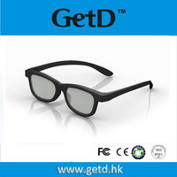 Polarized 3D Eyewear Glasses For Cinema