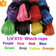 10mm x 30m Winch Cable and Synthetic Rope 4x4 ATV 4 Wheel Parts