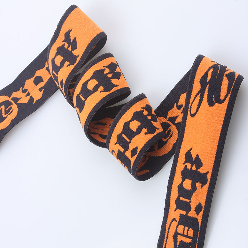 2016 Best price high quality custom woven wholesale elastic webbing strap with personalized logo