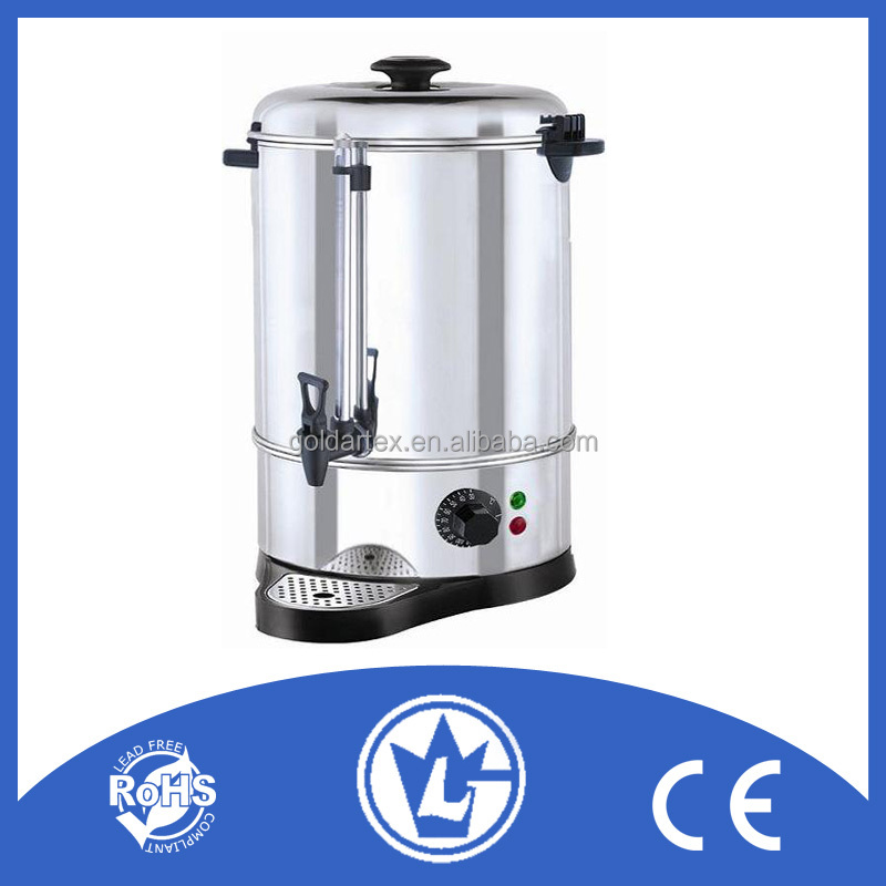 40L Stainless Steel Catering Hot Water Urn with CE CB