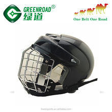Ice hockey helmet with dust mask Safety Helmet ABS helmet