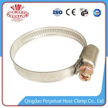 China Manufacturer New german type stainless hose clamps