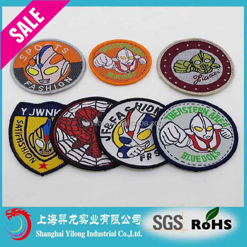 Custom Silicone Garment embroidered patches