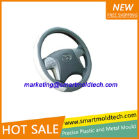 Plastic new design pvc car steering wheel covers from manufacture with needles with great price