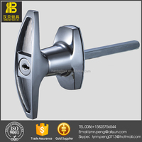 MS316-1 Zinc Alloy Cabinet Door T Handle Lock with key