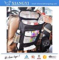 Home basics car back seat cooler bag organizer for retain freshness cold insulation