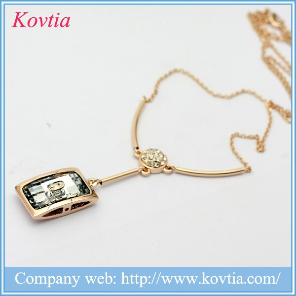 2015 popular new jewels products on china market 2015 joyeria acero inoxidable pendant necklace