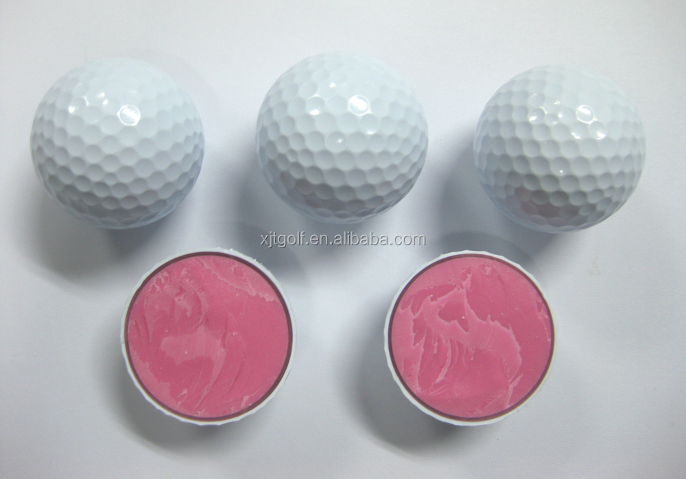 Large three layer PU tournament golf balls