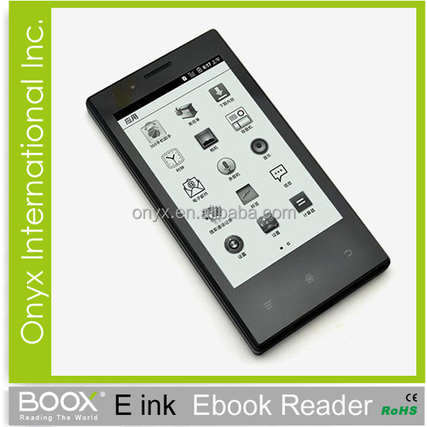 e-ink touch screen 4.3 inch screen wifi bluetooth smart phone