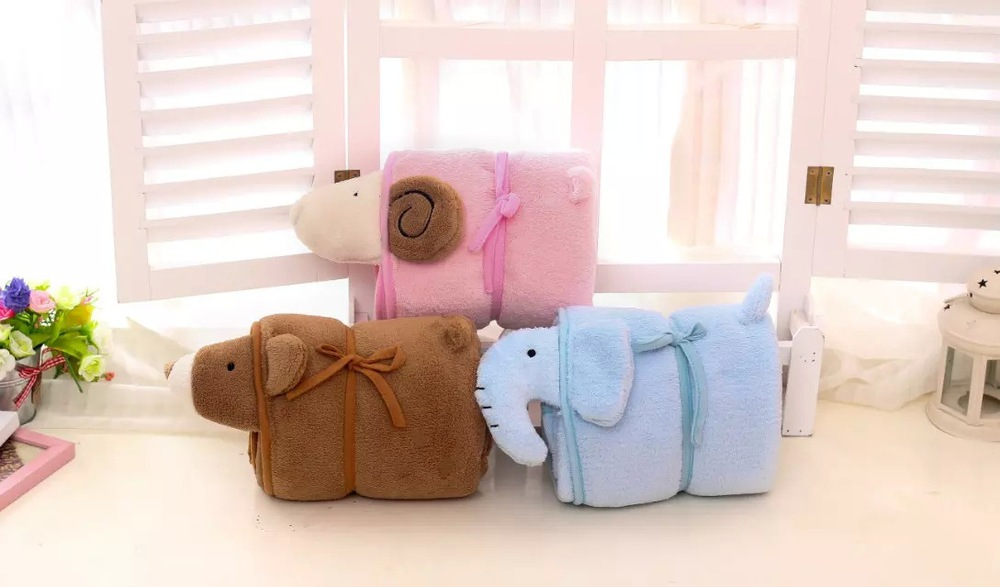 Sweet candy Mimi sheep sheep air conditioning blanket pillows