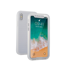 Transparence soft tpu shockproof protective waterproof case for iphone X case cover waterproof dustproof