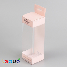 Customzied clear PVC plastic rectangle fold box packaging