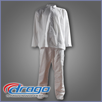 Drago customized cotton hospital housekeeping uniform