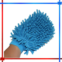 AD598 microfiber super absorbent car chenille wash polish cleaning mitt glove