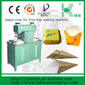 Semi auto printable food container making machine