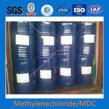price / 99.99% tested by sgs OF dichloromethane