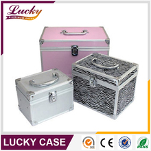 High Quality Aluminum hair beauty Case With Drawer
