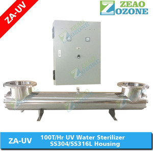 UV Sterilizer for Industrial Water Disinfection / UV System / Ultra-Violet UV Water Treatment