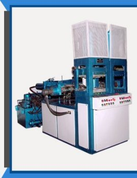 Rubber sole injection moulding machine