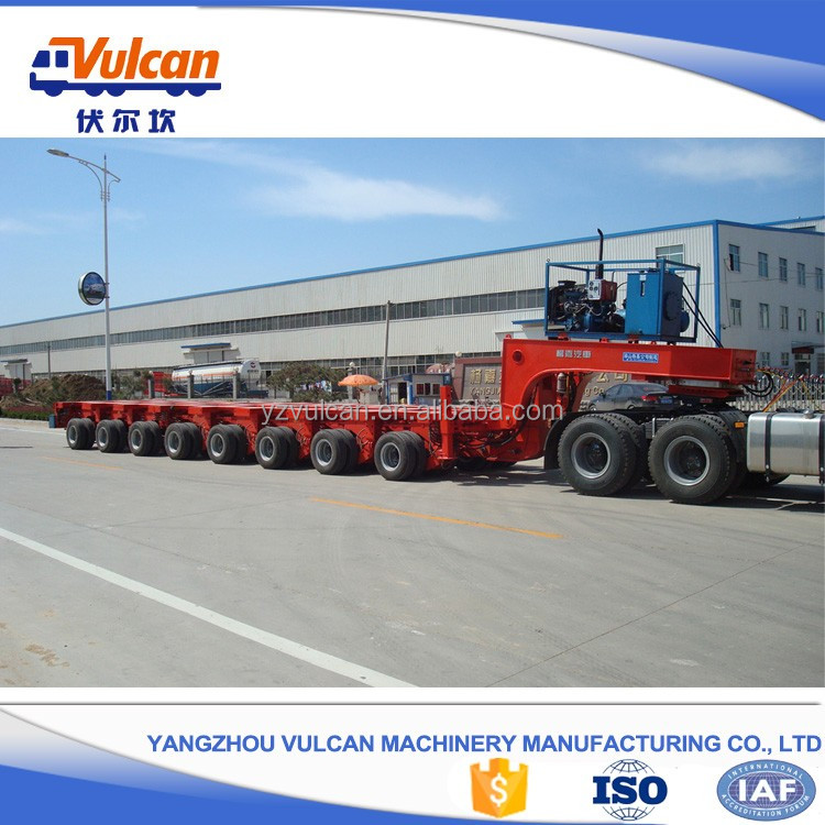 China manufacturer sale tow trailer low bed truck trailer