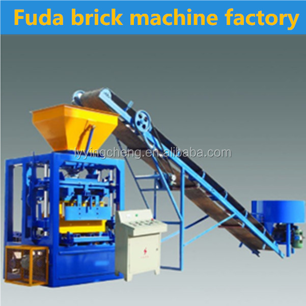 QT4-24B price list of concrete block making machine made by China