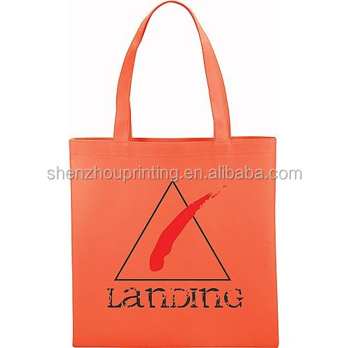 China factory high qualit custom durable fancy handled dtyle reusable non-woven folding bag shopping bag