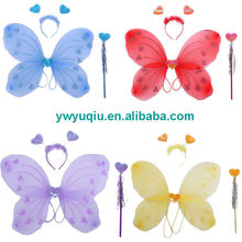 fashion cosplay toys fairy butterfly wing for kids