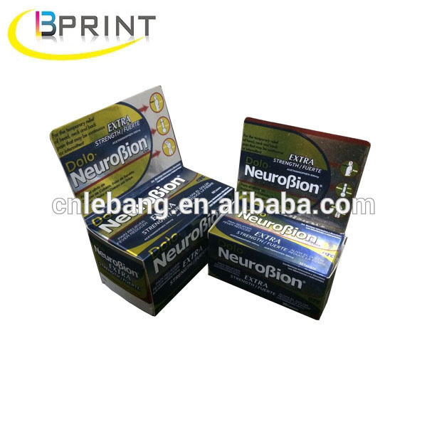 Metallic paper material with UV printing and special surface treatment Supplement/Nourishment packaging metallic paper box