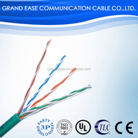lan cable cat6 23awg 24awg utp cable cat6 price cat6 utp GuangDong cable
