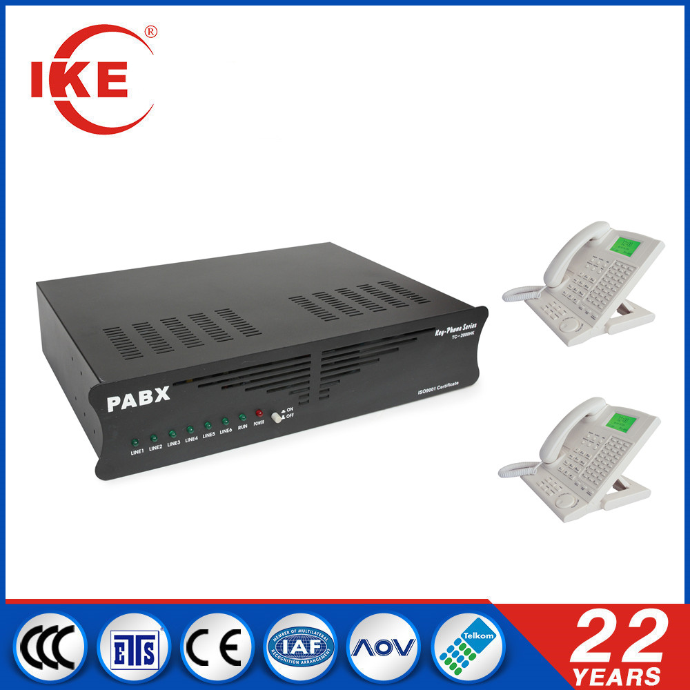 TC-624HK ike pabx 624 for hotel