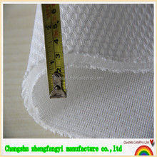 polyester small hole mesh fabric, breathable mesh fabric, fabric for mattress with oeko-tex
