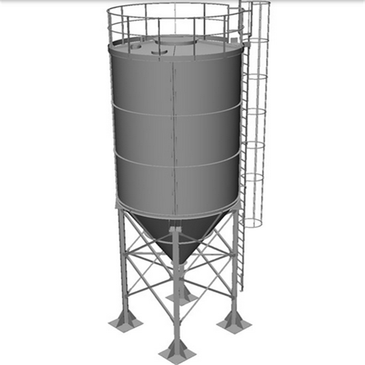 Large Capacity 500 Tons Cement Silo Bulk Powder Storage Silo Supplier