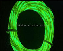 flowing light el chasing wire blue color,easy make any shape you like