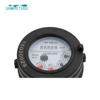 Manufacture factory residential plastic gallon Water Flow Meters