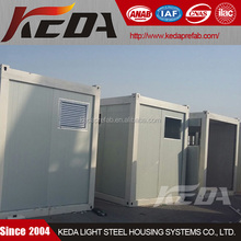 20ft Mobile Container Toilet / Bathroom / Ablution to Saudi Arabia