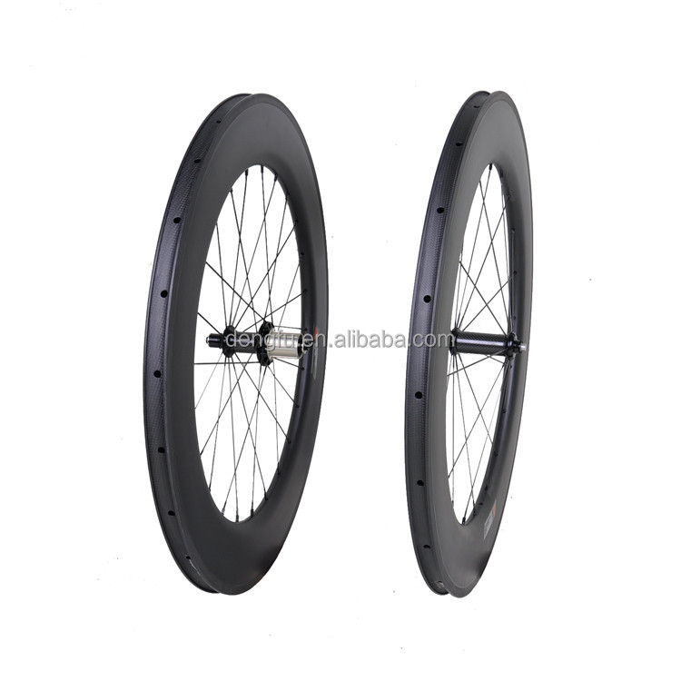 25mm width clincher rim 88mm Depth road bicycle wheels carbon