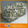 Military supplies steel flood barrier, welded gabion box, gabion containment prices