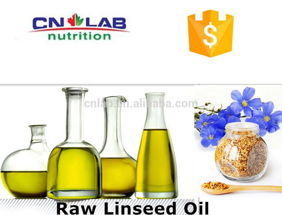 Certificated Flaxseed Oil Factory/Plant Extract Natural Flaxseed Oil in Bulk