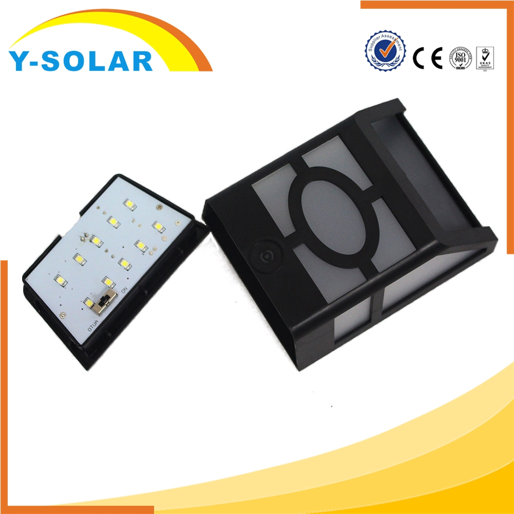 Y-SOLAR SL1-37-C Waterproof Portable Outdoor Led Garden Solar Lamp Price with Voice Control Mode