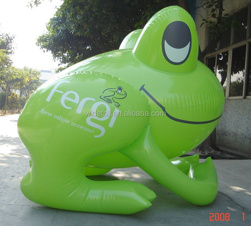 inflatable frog/inflatable advertising