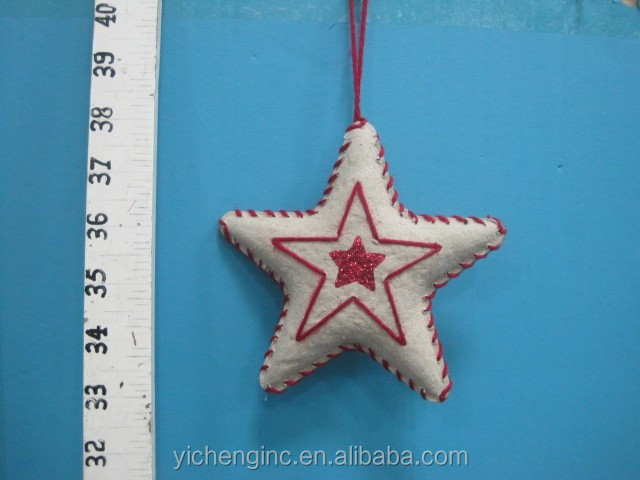 Bestseller 2016 Christmas Decoration Handmade Paper Star Shape Christmas Ornament