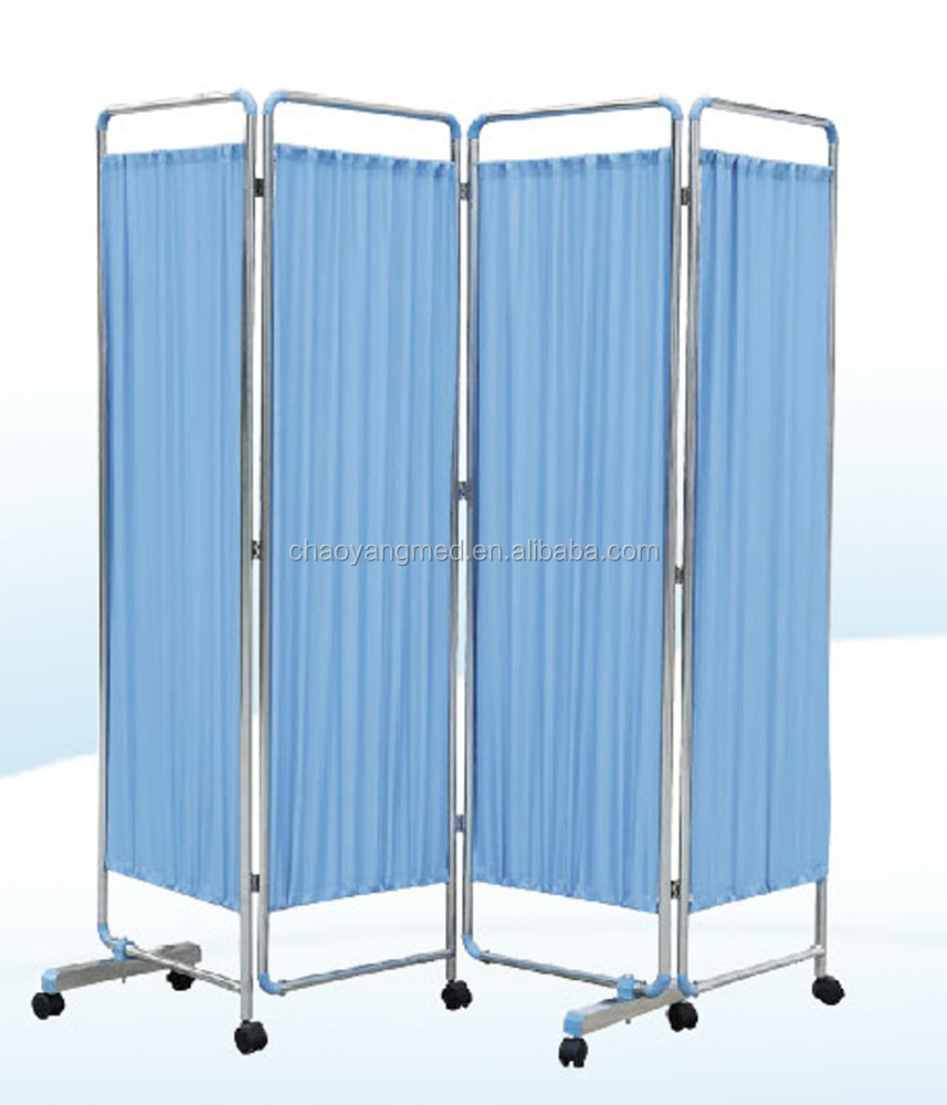Hospital screen ward/Four Fold Hospital Folding Screen CY-H806