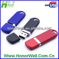 Classic Rubber Finish Usb 2.0 32GB usb flash disk for hot sell free logo