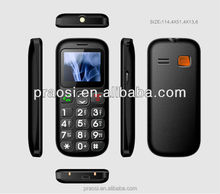 Large Button senior mobile phone with dual SIM GSM