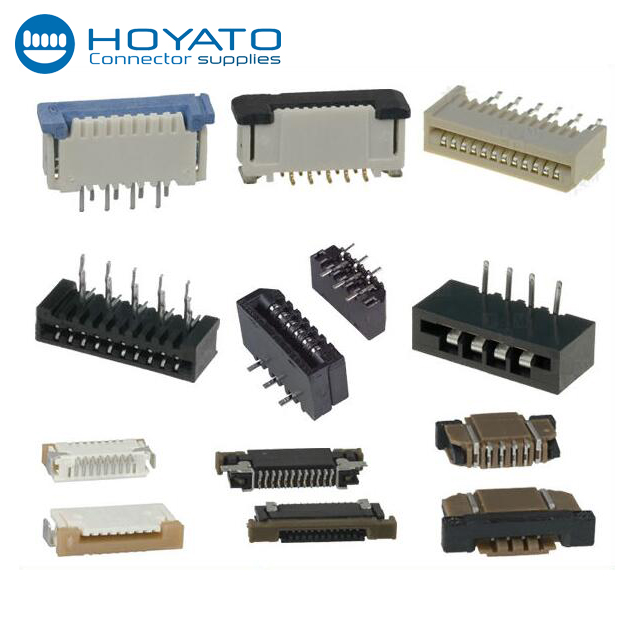 0.5mm 0.8mm 1.0mm 1.25mm Pitch SMT FPC Connector