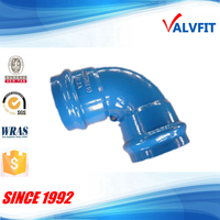 CHINA Ductile Iron Fittings for PVC pipe