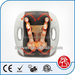 Home and Car Back 3D massage cushion with infrared heat