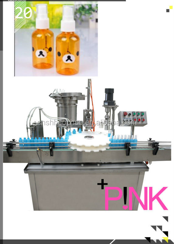 Automatic Spray liquid Filling Machine(GMP),two heads filling
